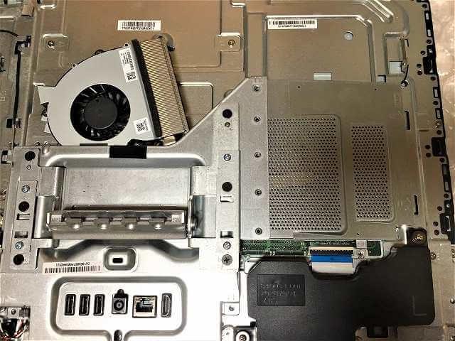 HP Pavilion 24-a173jpのメモリ交換